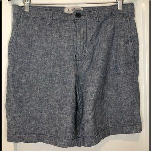 Original Penguin blue casual dress shorts size 32